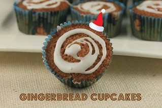 Gingerbread Cupcakes - MS Cupcake Club | by Food Librarian