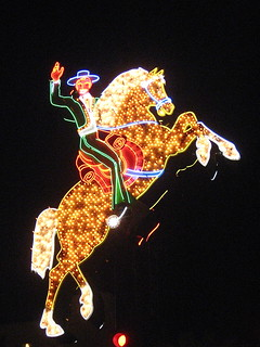 The Hacienda Horse and Rider | by chicagogeek