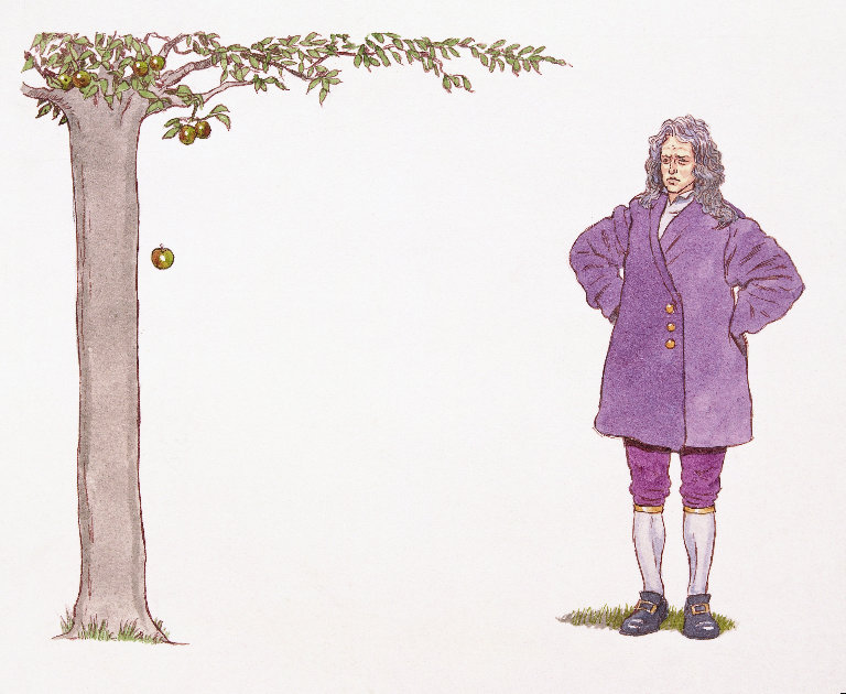 Isaac Newton apple[1]