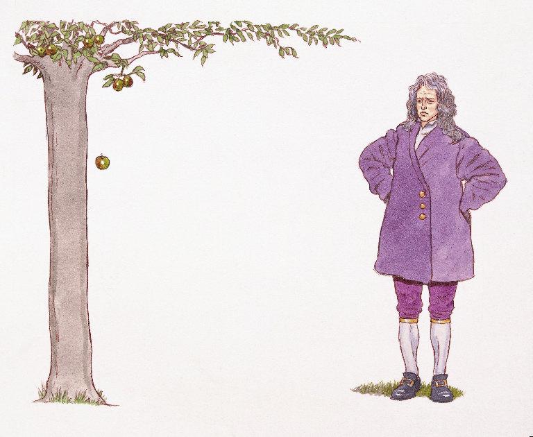 Isaac Newton apple[1]