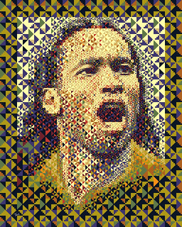 Didier Drogba: Côte d'Ivoire 2010 (Second mosaic illustration) | by tsevis