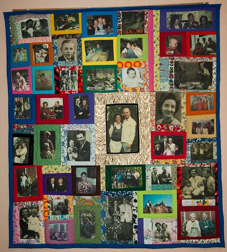 Golden wedding quilt | by mybearpaw