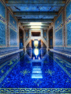 The Azure Blue Indoor Pool at Hearst Castle | by Stuck in Customs