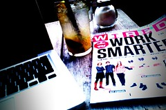 Wired, laptop, lemonade. What more to ask for? | by the waving cat