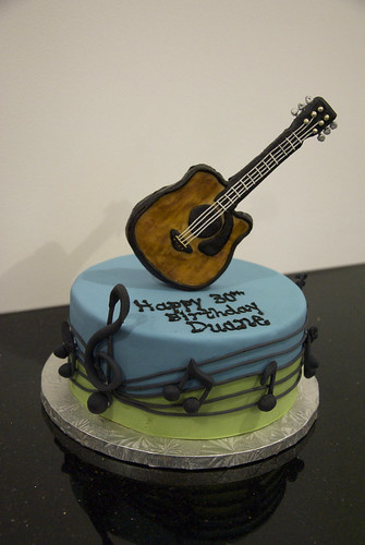 Images Of Cakes Designed A Guitars