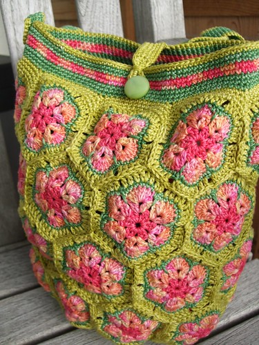 "African flower bag ""Spring"" 