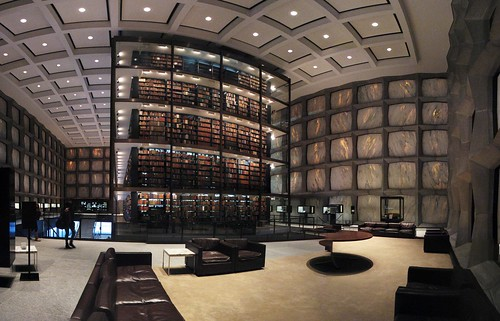 Yale University's Beinecke Rare Book and Manuscript Library | by Lauren Manning