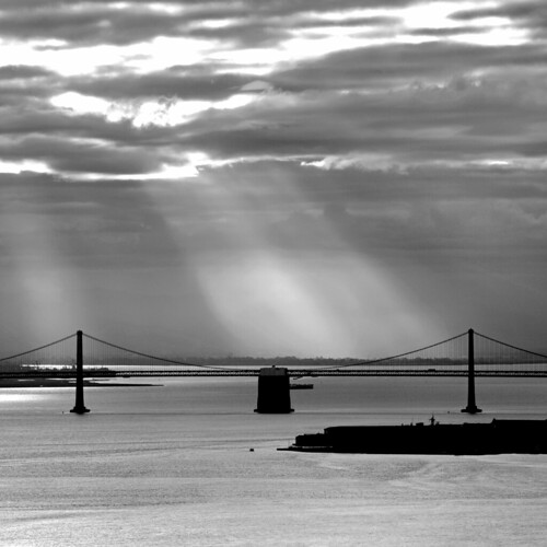 Sunlight on the Bay Bridge | by Rob Kroenert