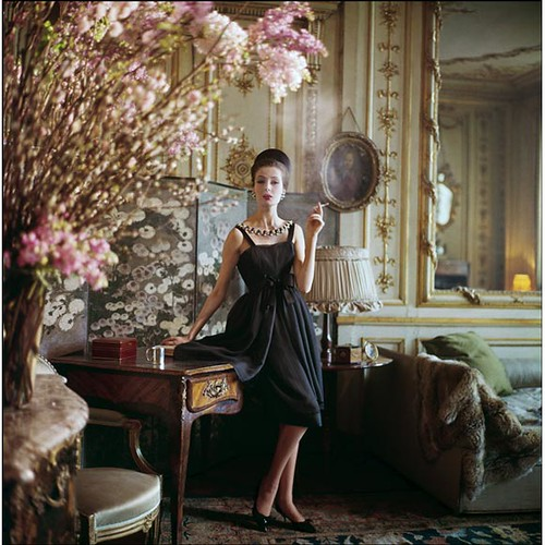 Vintage Dior 1960s Paris shoot from Vogue | by champagne!