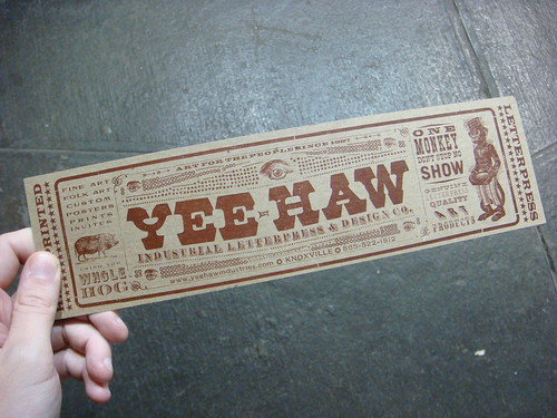 Yee-Haw Industries show | by Nick Sherman