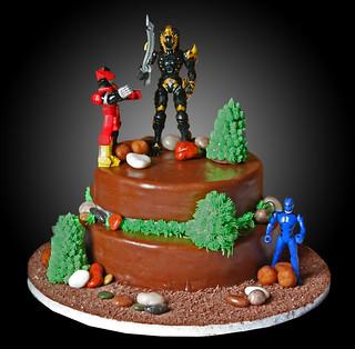 Power Ranger Birthday Cake Photos