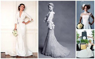 Retro Inspired Wedding Gowns | by Nina Renee Designs