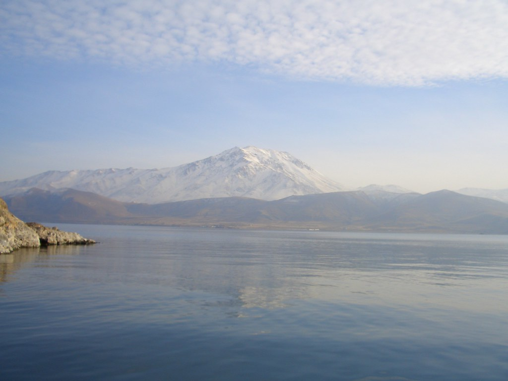 Mountain from Akdamar Island near Van, Turkey