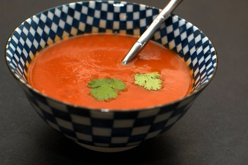 spicy tomato soup | by sassyradish
