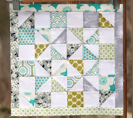 Sew New to Me Virtual Quilting Bee March Block | by Fresh Lemons : Faith