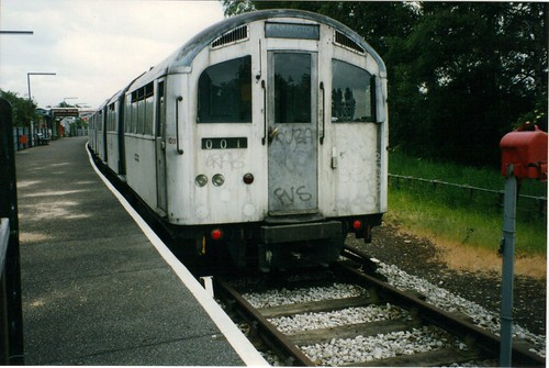 1956 Stock at Mill Hill East