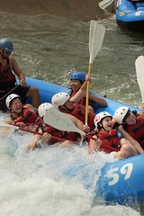 Whitewater Rafting Camp | by One Step Camp