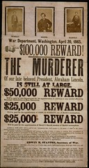 The Actual Wanted Poster for BOOTH starring John Wilkes Booth and Bad Victorian Design! | by firstsecondbooks