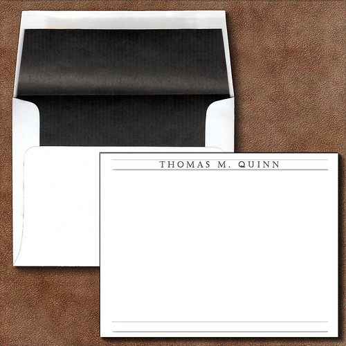 Personalized Papers Executive Stationery: Executive Ebay Personalized Custom Note Cards Corresponden
