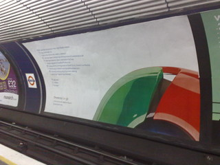 google chrome poster at old street underground station | by osde8info