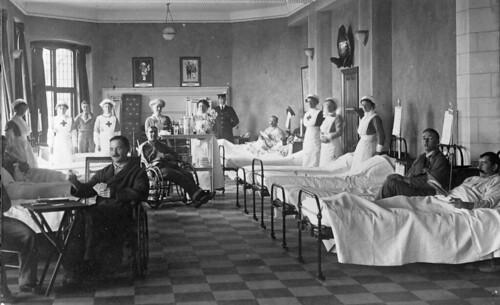 Inside Ellis Island Pictures Hospital Bed