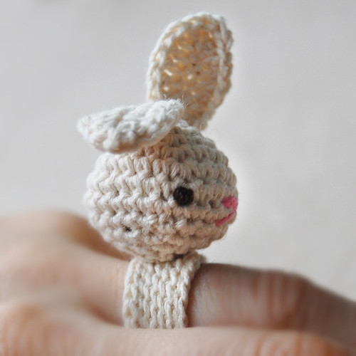 Amigurumi Bea Bunny Ring Flickr - Photo Sharing!