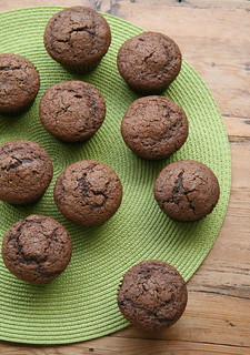 Mocha Muffins with Chocolate Chips (Bon Appetit) | by Food Librarian
