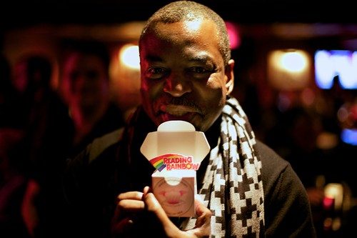 Levar Burton and his Cupcake! | by clevercupcakes