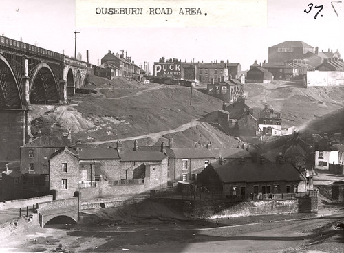 034789:Ouseburn Road Area, Byker, Newcastle upon Tyne, Dept of Environmental Health c.1935