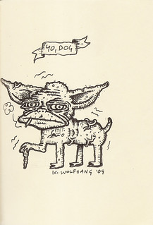 Yoda sketchbook vol. 2 page 57 - Kurt Wolfgang | by Mike Baehr