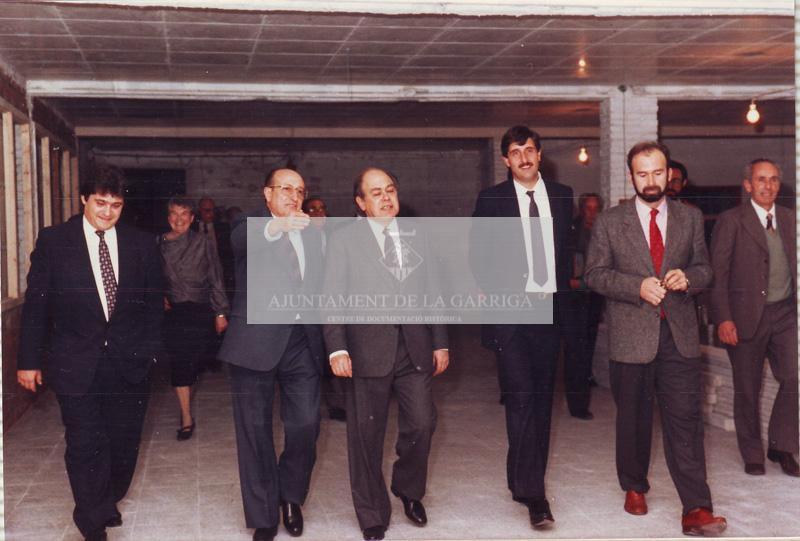 Visita Jordi Pujol als centres d'atenció d'autistes 18/12/1987