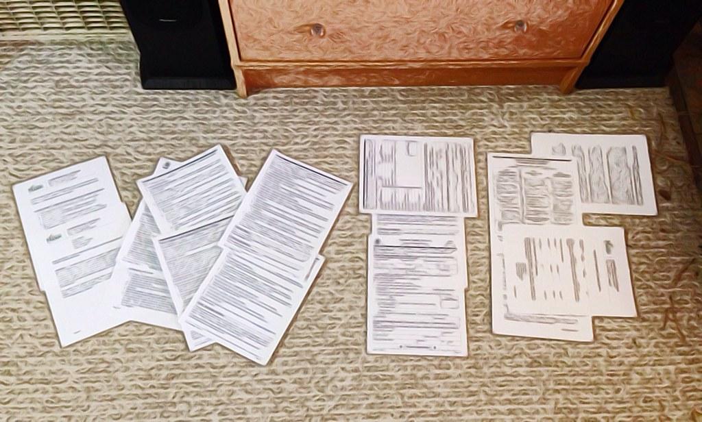 How Much Paperwork?