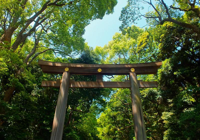 Porte d'entrée du parc