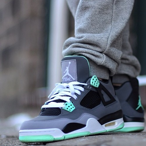 Did you pick up the Green Glow Air Jordan 4 when they released? @andre_g123 SneakerFiles.com #sneakerfiles #airjordan #wdywt