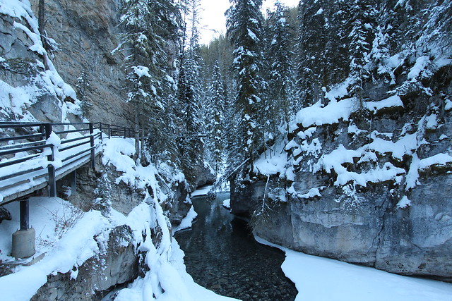 Johnston canyon winter trip 2014