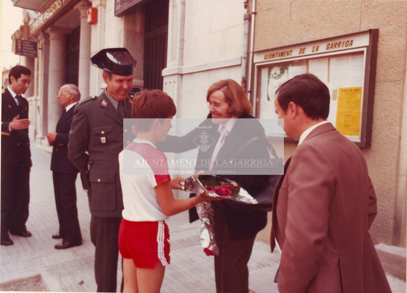 Visita Sr. Francesc Martí i Jusmet 23/04/1982