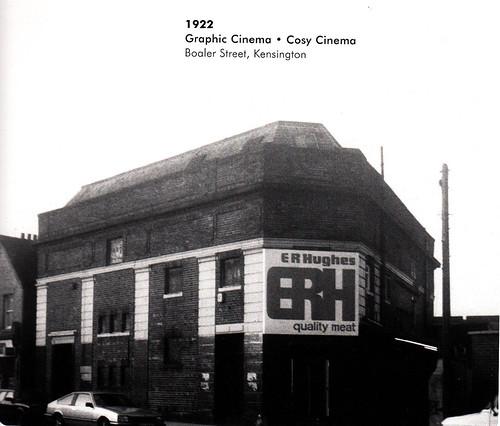 Cinemas - Kensington - Graphic * Cosy