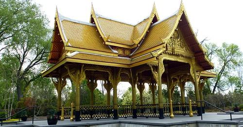 Thai pavilion, Olbrich Botanical Gardens, Madison