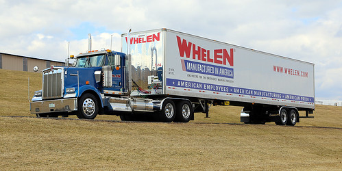 Whelen KW W900L & trailer | by todd_dills