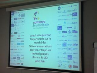 Lunch-Conférence Opportunités sur le marché des Télécommunications pour les entreprises technologiques (France&UK)