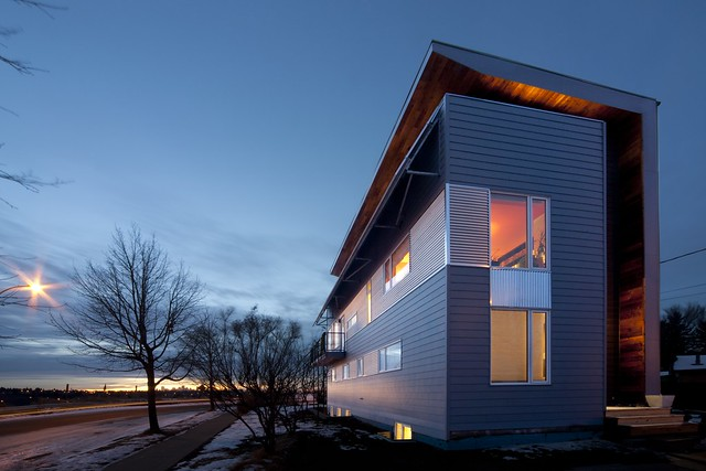 Passive solar energy is key to building a net-zero home