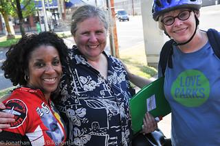 The crew from Seattle Neighborhood Greenways
