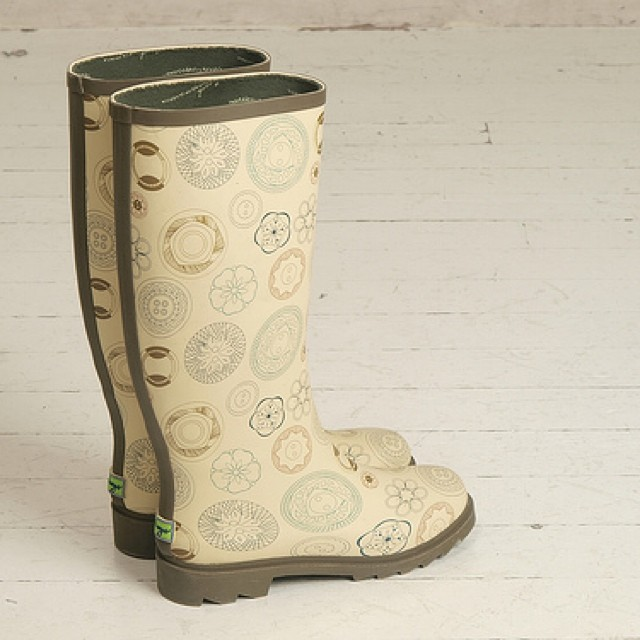 The Sew Cute wellies I designed for Plueys are back! They were so popular they made a new batch. Get them from plueys.com