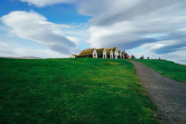 Turf Houses, Glaumbær, Iceland