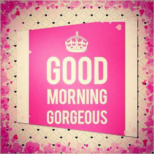 Good Morning Gorgeous!! Have A Fabulash Day!! #younique #m
