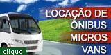Localçao de ônibus e vans em Barreiro MG