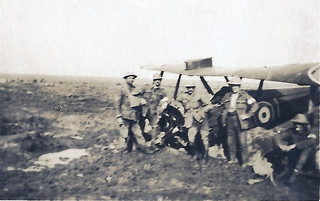 British plane brought down near Somme Redoubt