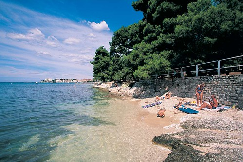 Beach at Poreč | by valamar.croatia