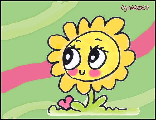 Smiling Sunflower Images Smiling Sunflower | by