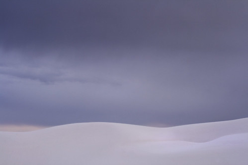 White Sands Dark Sky and Curves | by kathyv